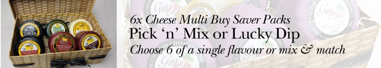 6 x Cheese Multi Buy Savers