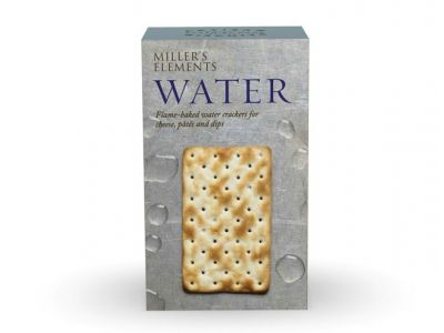 Millers Elements Water, Flame Baked Crackers 100g