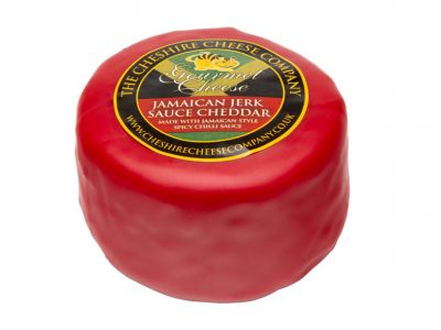 Waxed jamaican chilli sauce cheddar cheese