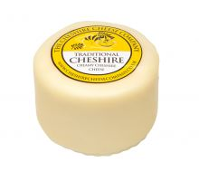Cheshire Creamy Traditional Cheese - Waxed Truckle 200g