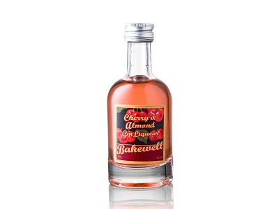 Cherry Bakewell Gin Miniature