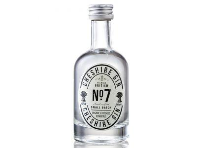 Cheshire Gin No. 7 Miniature 5cl : 40% vol