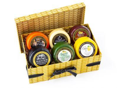 6 x Pick 'n' Mix Cheese Truckles Gift Box or Hamper
