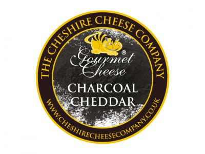 Charcoal Cheese - 200g Waxed Truckle