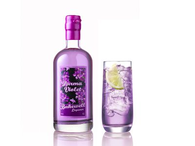 Cheshire Gin Parma Violet Gin Bakewell Liqueur
