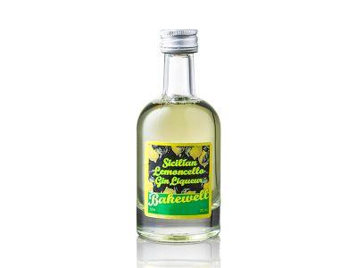 Scillian Lemoncello Liqueur Miniature 5cl : 20% vol