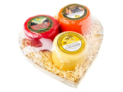 Mini Heart Cheese Gift for Her