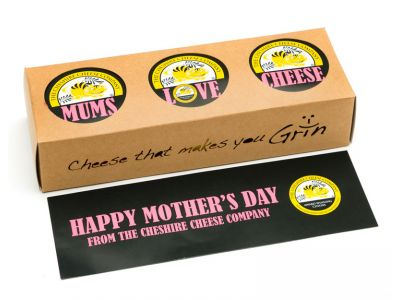 Mums Love Cheese! Mothers Day Trio - Pick Your Own Cheese Gift