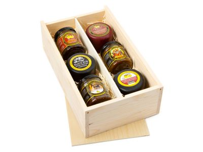Trilogy of Cheese and Chutney Gift Box