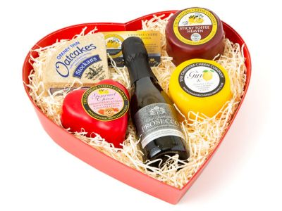 Prosecco and cheese gift set