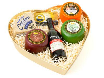 Gourmet Cheese & Wine Gift Set