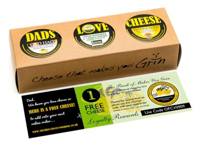 Dads love cheese gourmet gift set