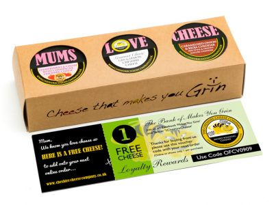 Mums Love Cheese, Gourmet Trio Selection