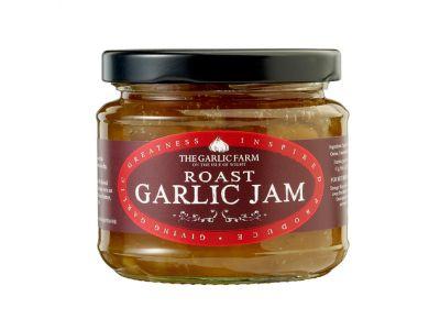 Roast Garlic Jam. Produced by the Garlic Farm, Isle of Wight