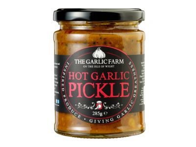 Hot Garlic Pickle, The Garlic Farm 285g