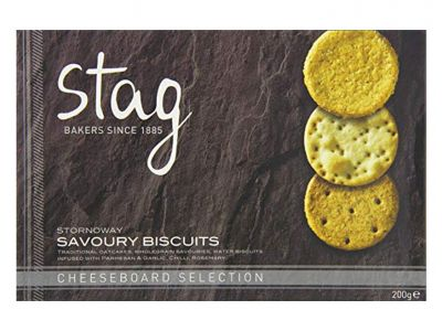 Stag Savoury Cheeseboard Biscuits Selection