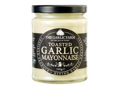 Toasted Garlic Mayonnaise, The Garlic Farm 245g
