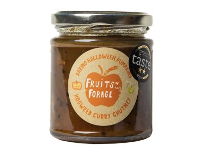 Fruits of the Forage Hogweed Curry Chutney
