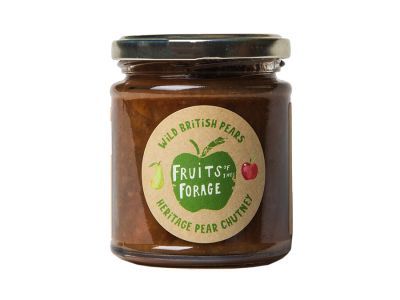 Wild British Pear Chutney for Cheese