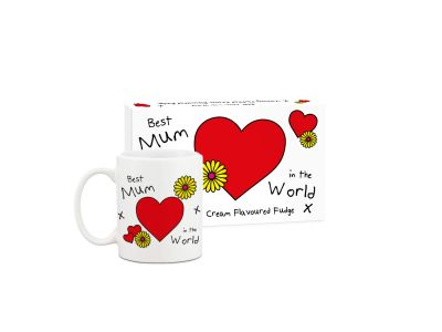 Best Mum Fudge and Mug