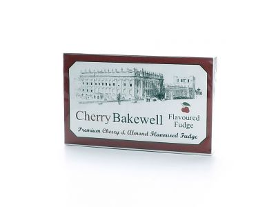 Cherry Bakewell flavour fudge