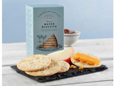 Cartwright & Butler Water Biscuits, Sea Salt & Black Pepper
