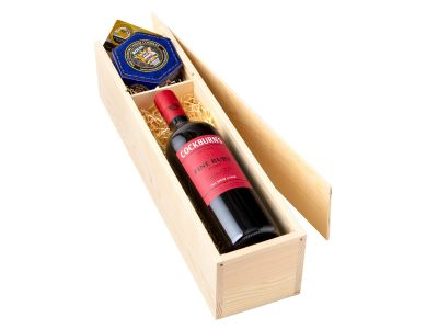 Royal Blue Cheese and Port Gift Box