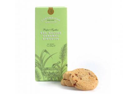 Cartwright & Butler Salted Caramel Biscuits Carton