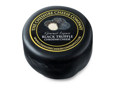 Black Truffle Gourmet Luxury Cheese Truckle 150g