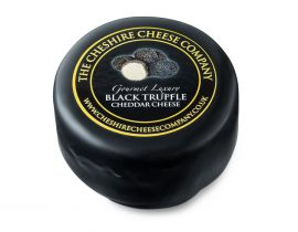 Black Truffle Gourmet Luxury Cheese Truckle 150g