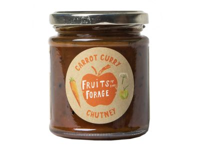Fruits of the Forage Carrot Curry Chutney