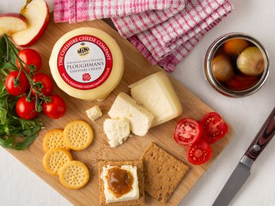 New! Ploughmans Cheshire Cheese Truckle 200g