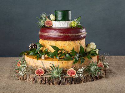 Cheese Wedding Cake for 100 People