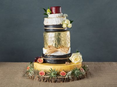 Alice in Wonderland Cheese Festival Cake