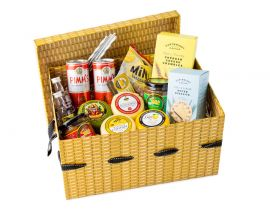 Large Summertime Cheese Picnic Hamper