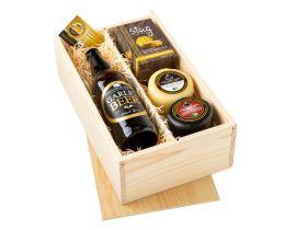 Garlic Crazy Cheese & Beer Gift Box