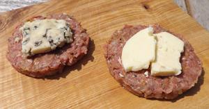 Making Cheese Burgers Recipe