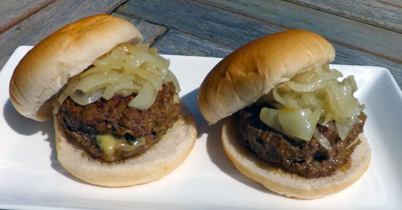 Blue and Bob Cheese Burgers
