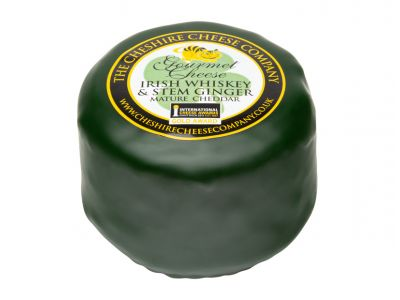 Irish Wihiskey & Ginger Cheddar Cheese