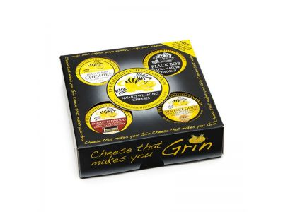 4 x Traditional Cheese Waxed Truckles Gift Set