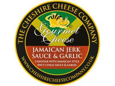 Jamaican Jerk Sauce Spicy Cheddar 200g Wax