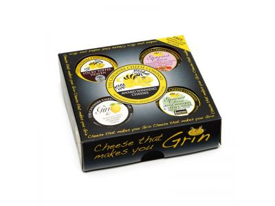 4 x Sweet Dessert Cheese Waxed Truckles Gift Set