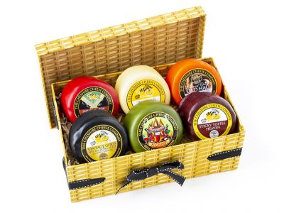 Rule of 6 x 'Lucky Dip' Cheese Selection 200g Wax Truckles