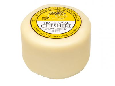 Creamy traditional cheshire cheese