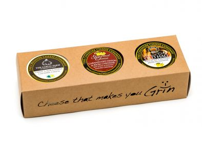 Trio of Truckles Gourmet Cheese Selection