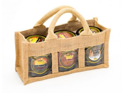 3 x Gourmet Chutney Gift Bag Selection