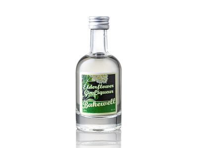 Elderflower Miniature Gin Bakewell Cheshire Gin Company