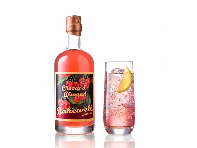Cherry & Almond Gin Liqeuer