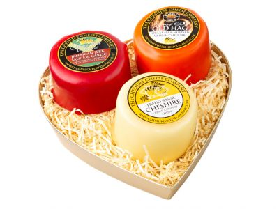 Mini Hearts Trio, Pick Your Own Cheese Gift Pack
