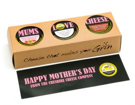 Mums Love Cheese! Mothers Day Trio of Truckles Selection
